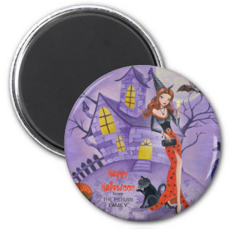 Halloween Witch - Magnet