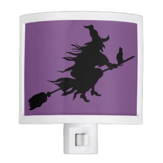 Halloween Witch Night Light