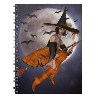 Halloween Witch Notebook