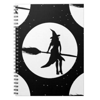 halloween witch notebooks
