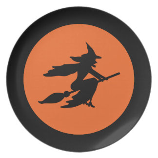 Halloween Witch Plate