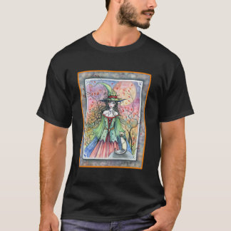Halloween Witch Siamese Cat Shirt