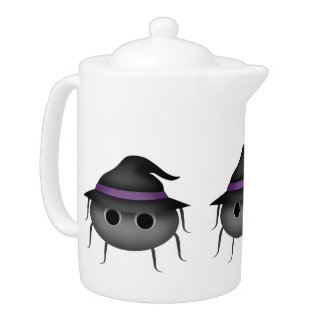 Halloween witch spiders