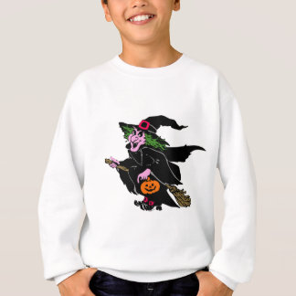 Halloween Witch Sweatshirt