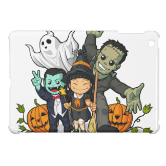 Halloween Witch Vampire Frankenstein Ghost Case For The iPad Mini