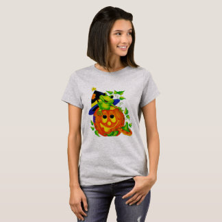 Halloween Witches Frog T-Shirt