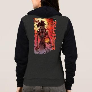 Halloween Women's Bella+Canvas Full-Zip Hoodie