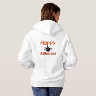 Halloween Women's Hooded Sweatshirt/Spider Hoodie