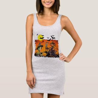 Halloween Women's Jersey Tank Dress