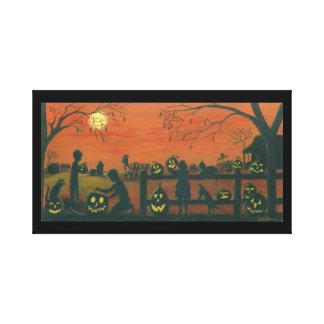 Halloween ,wrapped,canvas,print canvas print