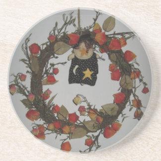 Halloween Wreathe Coaster