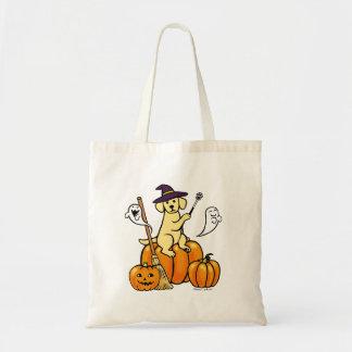 Halloween Yellow Labrador Cartoon 2 Bags