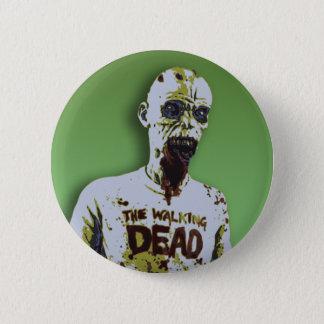 Halloween Zombie 2 Inch Round Button