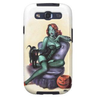 Halloween Zombie Girl Pin Up Samsung Galaxy SIII Covers