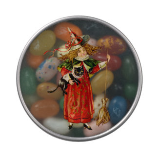 Halloween's Littlest Witch - Jelly Belly Canister