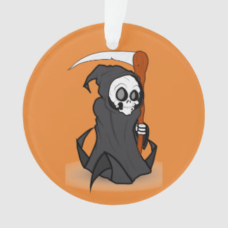Halloweens the Grim Reaper Ornament