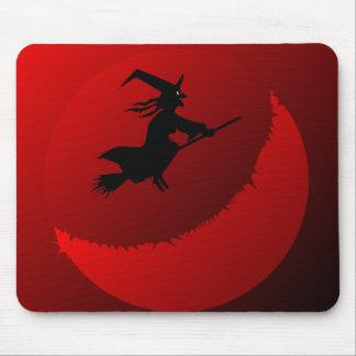 Hallowen Moon Mouse Pad