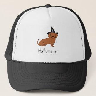 Hallowiener - Halloween Wiener Dog (Dachshund) Trucker Hat
