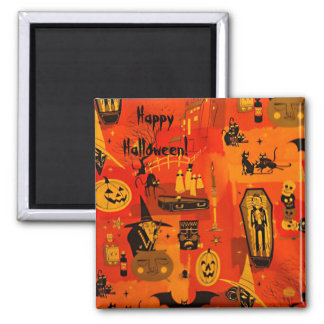 Hallows Eve Square Magnet