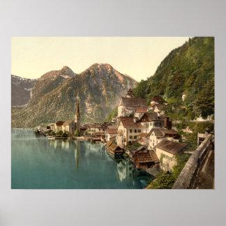 Hallstatt Austria archival print