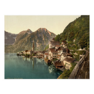 Hallstatt Austria Archival quality print