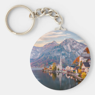 Hallstatt, Austria Keychain