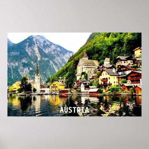 HALLSTATT, AUSTRIA POSTERS