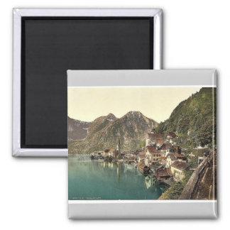 Hallstatt, Upper Austria, Austro-Hungary classic P Magnet