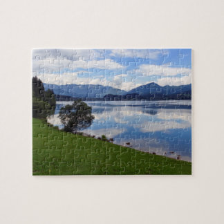 Hallstattersee lake, Alps, Austria Jigsaw Puzzle