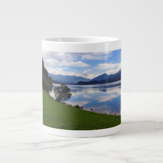 Hallstattersee lake, Alps, Austria Large Coffee Mug