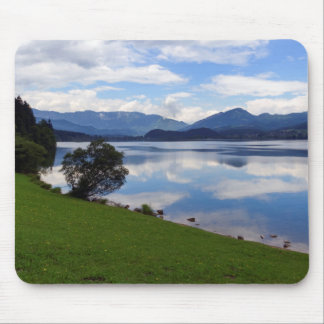 Hallstattersee lake, Alps, Austria Mouse Pad
