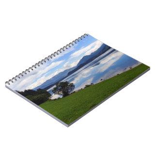 Hallstattersee lake, Alps, Austria Notebook