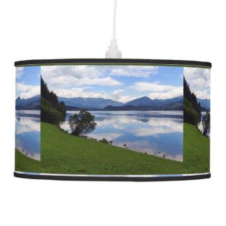 Hallstattersee lake, Alps, Austria Pendant Lamp
