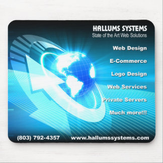 Hallums Systems Mouse Pad