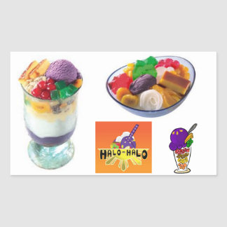 Halo Halo Stickers