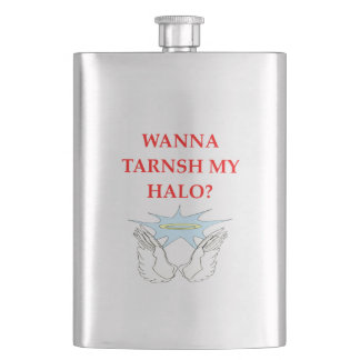 HALO HIP FLASK