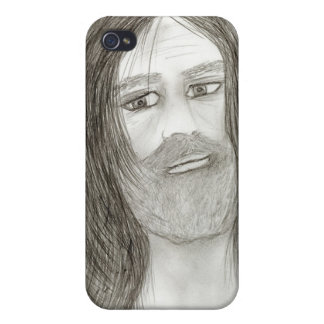 Halo Jesus iPhone 4/4S Cases