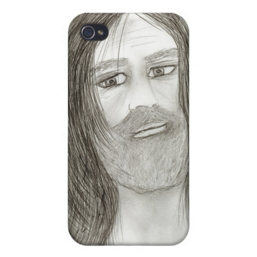 Halo Jesus Cases For iPhone 4