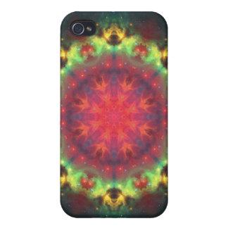 Halo Nebula Mandala iPhone 4 Cover