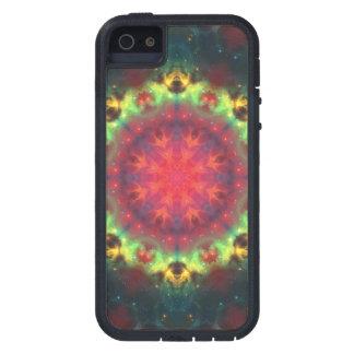 Halo Nebula Mandala iPhone 5 Cases