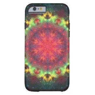 Halo Nebula Mandala Tough iPhone 6 Case