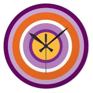 Halo No. 11 Large Clock