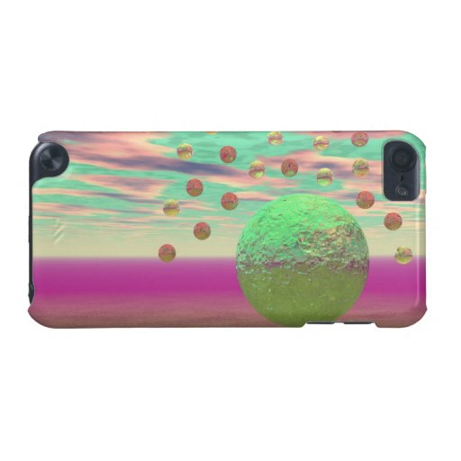Halo of Moons, Abstract Colorful Cosmos iPod Touch (5th Generation) Covers