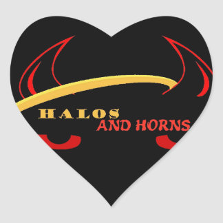 Halos and Horns Guild Itmes Heart Sticker
