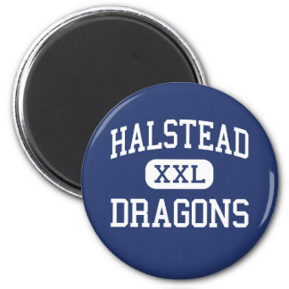 Halstead - Dragons - High School - Halstead Kansas Magnet