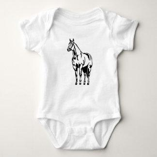 Halter American Quarter Horse Equestrian Baby Bodysuit
