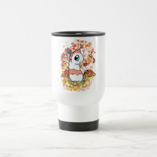Ham and Piggy autumn Travel Mug