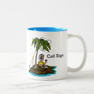 Ham on Island with Rig Mug  Customize It!