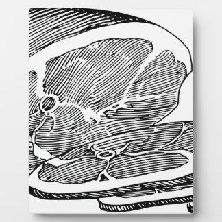 Ham Plaque
