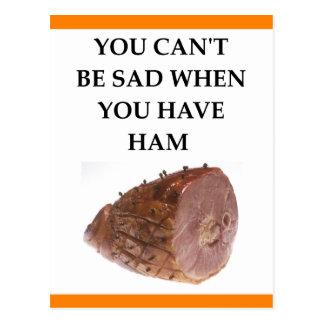 ham postcard